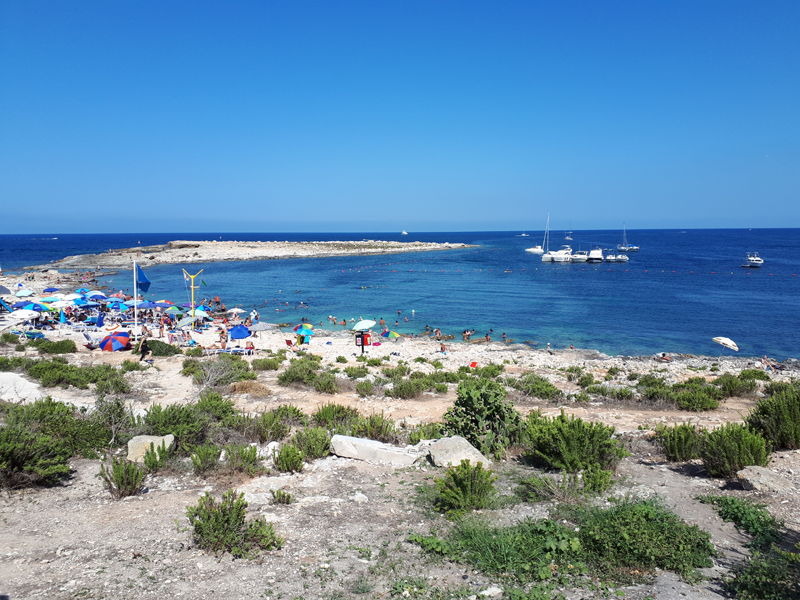 Beaches in Malta - Qawra Point