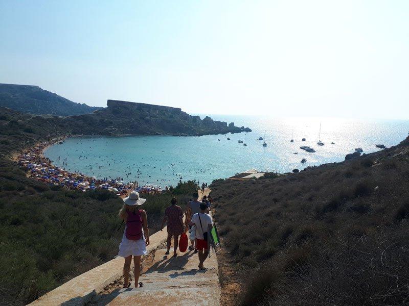 Corso inglese Malta - Perché spiagge