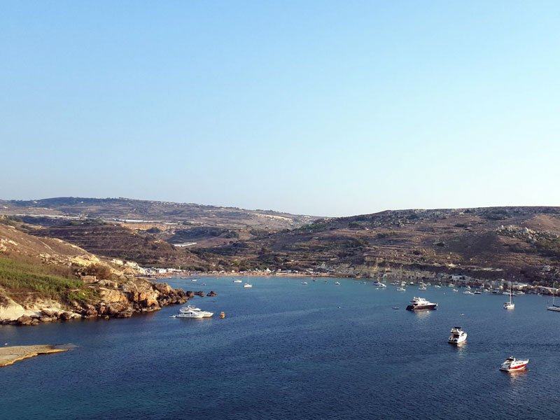 Beaches in Malta - Gnejna Bay