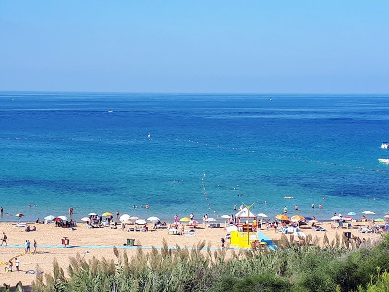 Spiagge Malta - Golden Bay