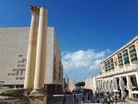 Valletta City Gate and Parliament