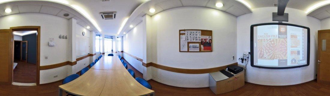 English course in Sliema Classroom