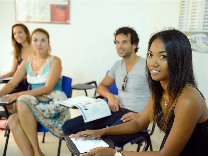 English school ST Julian's Classroom