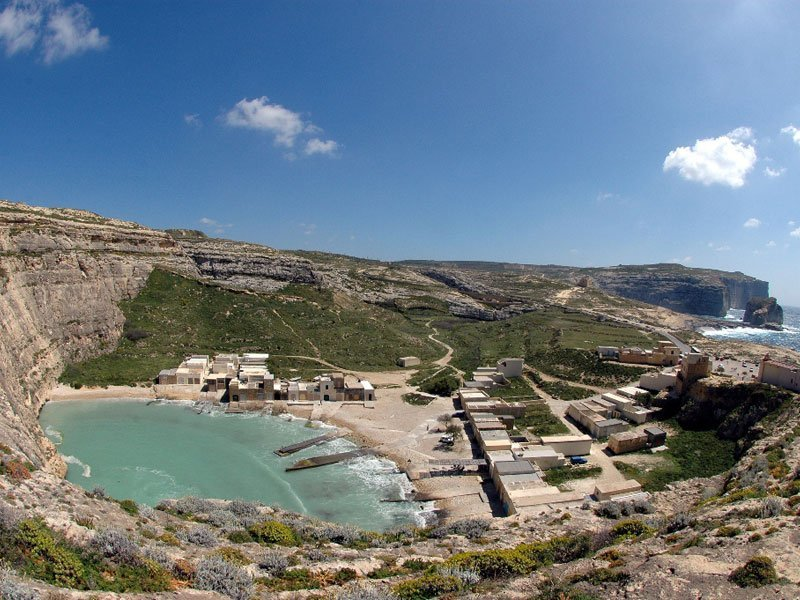 Gozo inland sea